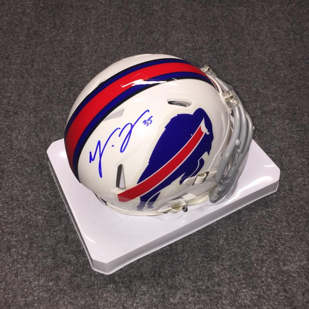 Bills - Mike Tolbert signed  mini helmet