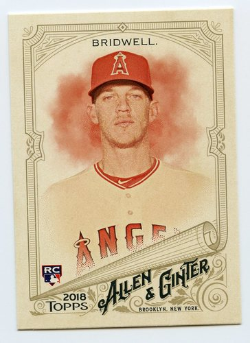 Photo of 2018 Topps Allen and Ginter #258 Parker Bridwell RC