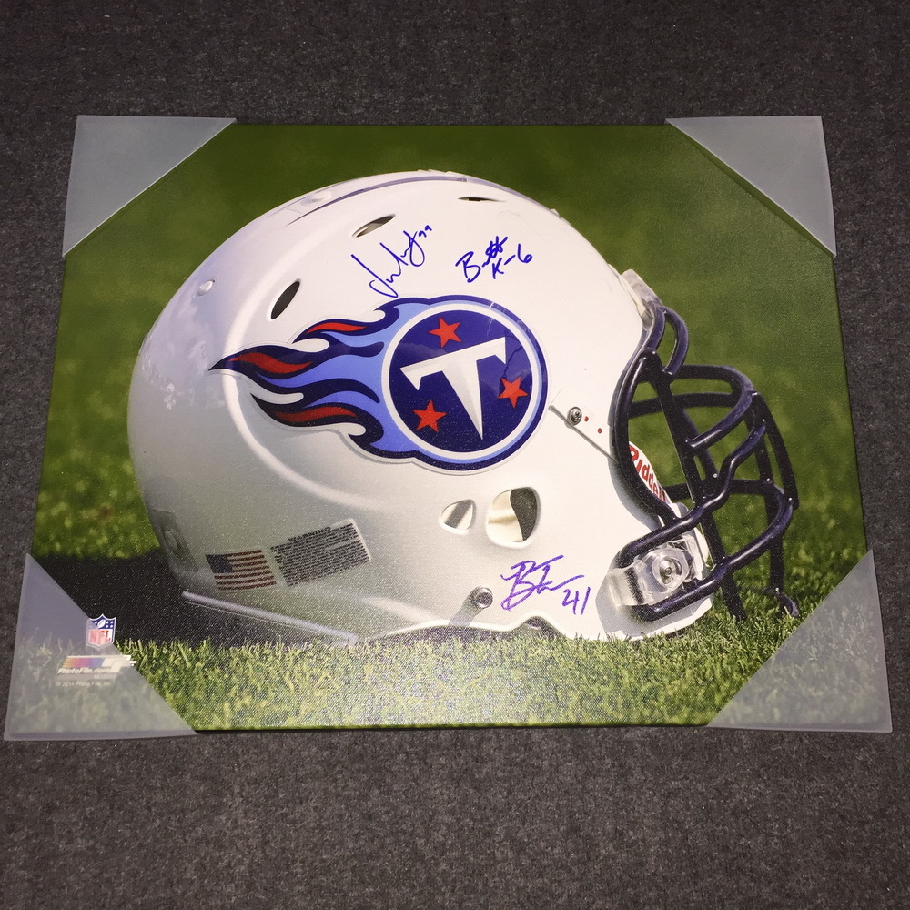 NFL - Titans multi signed 16x20 canvas print (Including Jurrell Casey, Brent Kerns, Brynden Trawick)