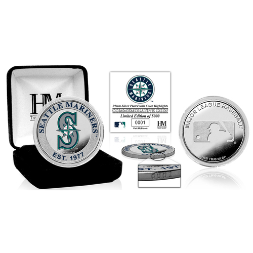 Photo of Serial #1! Seattle Mariners Silver Color Coin