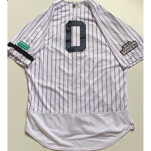 Photo of 2019 London Series - Game-Used Jersey - Adam Ottavino, New York Yankees vs Boston Red Sox - 6/29/19