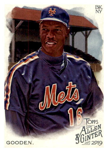 Photo of 2019 Topps Allen and Ginter #274 Dwight Gooden