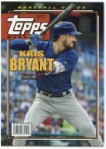 Photo of 2019 Topps Archives Topps Magazine #TM3 Kris Bryant