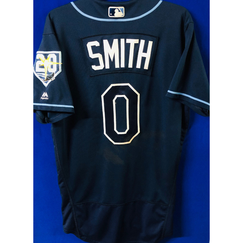 Photo of Game-Used Jersey: Mallex Smith (size 42) - September 29, 2018 v TOR