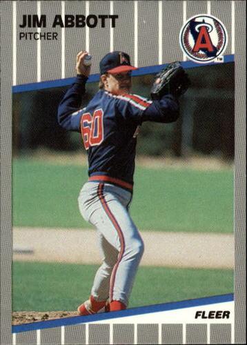 Photo of 1989 Fleer Update #11 Jim Abbott RC