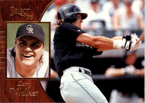 Photo of 1996 Select #98 Larry Walker