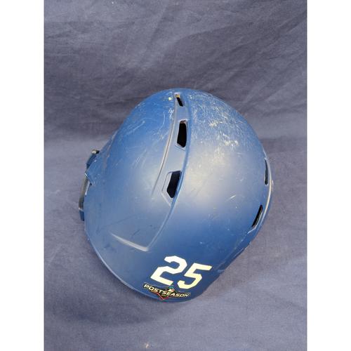 Photo of David Freese Team-Issued 2019 Postseason Helmet