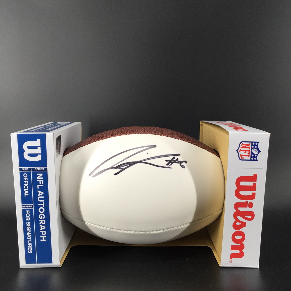 NFL - Texans Lonnie Johnson Jr Signed Panel Ball
