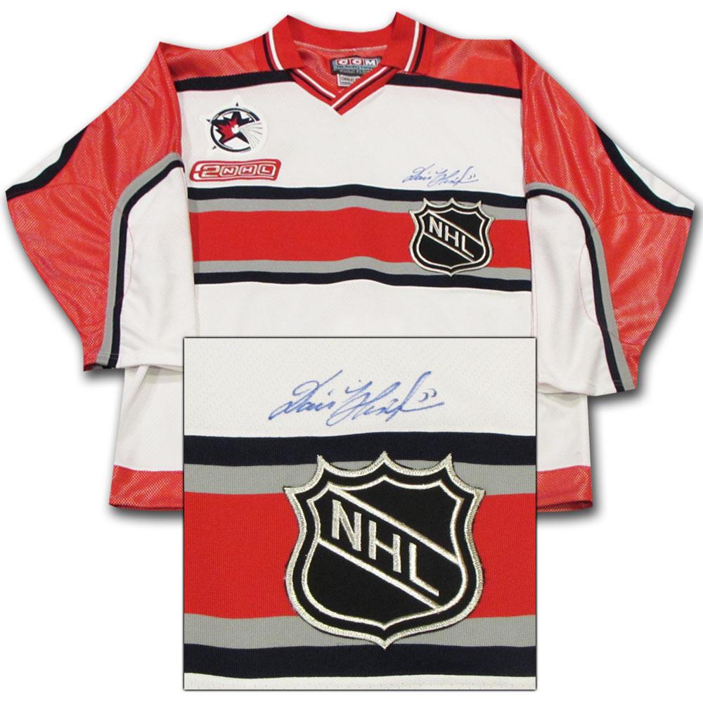 new arrivals 3f1ba 76f3f Dominik Hasek Autographed 2000 NHL All-Star Game Pro Jersey ...