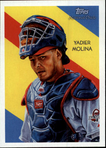 Photo of 2010 Topps National Chicle #139 Yadier Molina