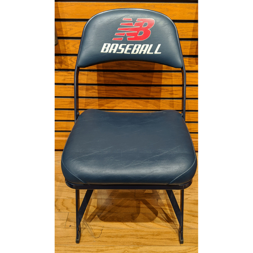 Photo of Fenway Park Visiting Locker Room Ichiro Suzuki Chair