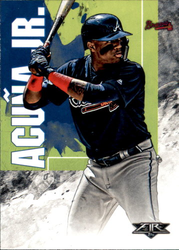 Photo of 2019 Topps Fire #37 Ronald Acuna Jr.