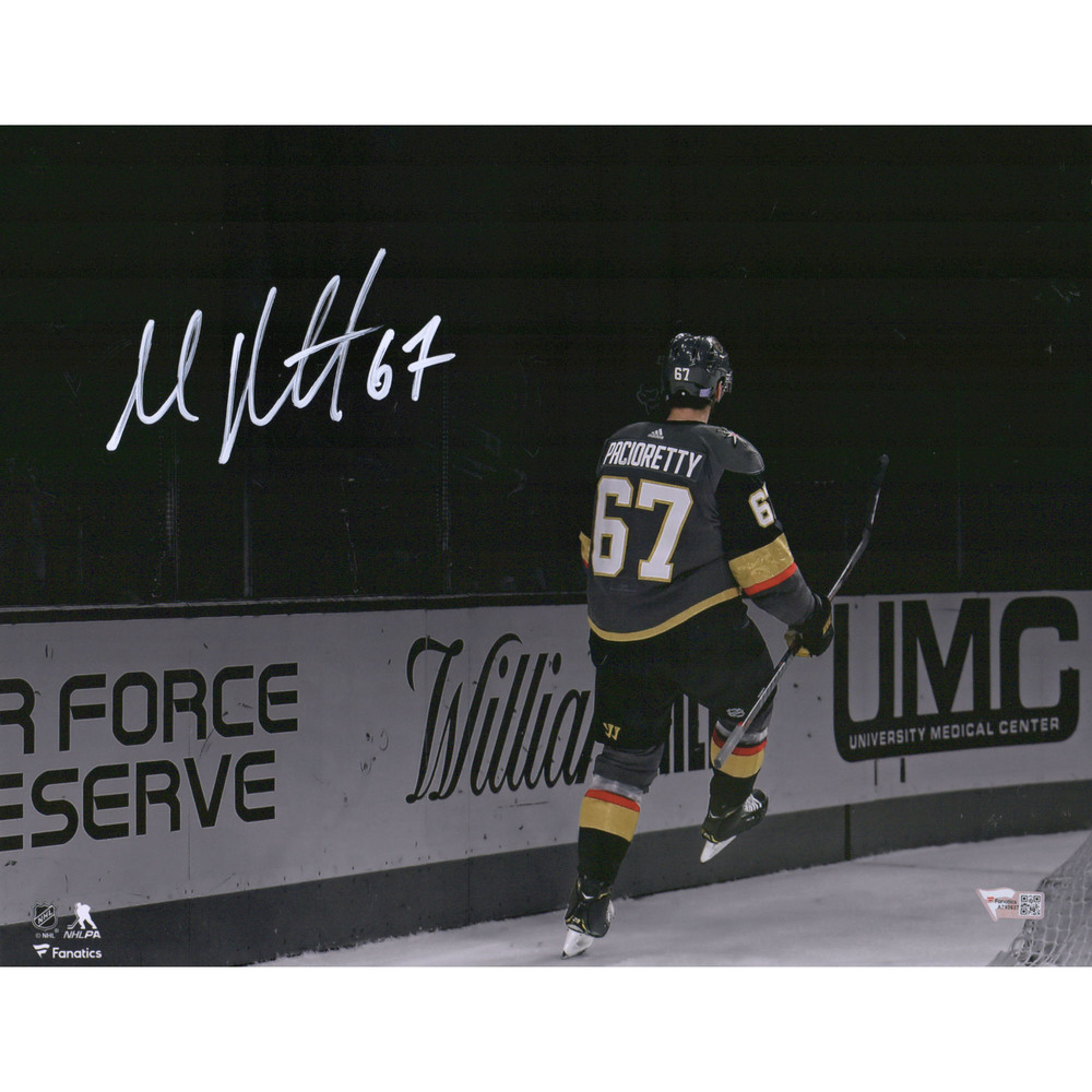Max Pacioretty Vegas Golden Knights Autographed 11