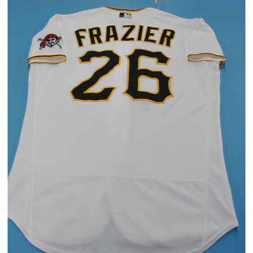 Photo of Game-Used Jersey: Adam Frazier - MIL vs. PIT - 7/27/2020 - Size 44