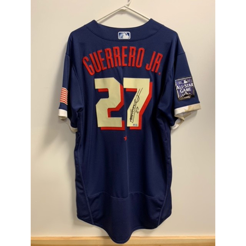 Vladimir Guerrero Jr. 2021 Major League Baseball All-Star Game Autographed Jersey