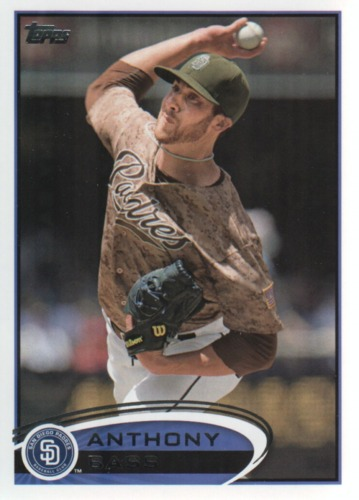 Photo of 2012 Topps Update #US318 Anthony Bass