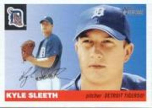 Photo of 2004 Topps Heritage #403 Kyle Sleeth SP RC