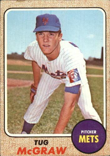 Photo of 1968 Topps #236 Tug McGraw