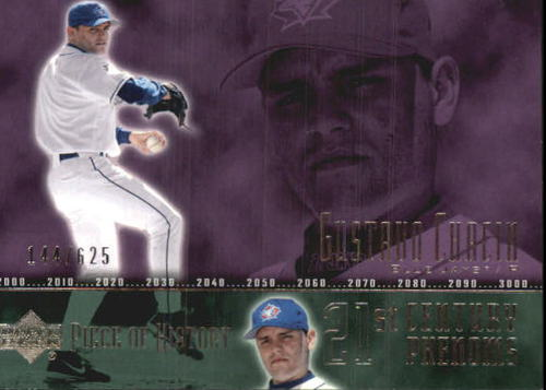 Photo of 2002 UD Piece of History #96A Gustavo Chacin 21CP RC
