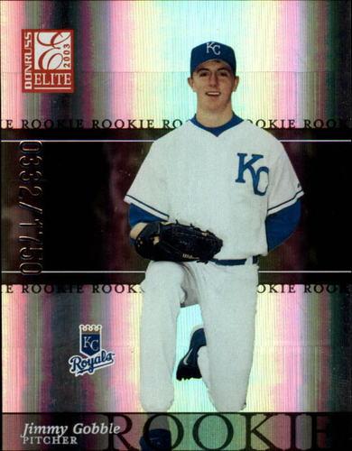 Photo of 2003 Donruss Elite #195 Jimmy Gobble ROO