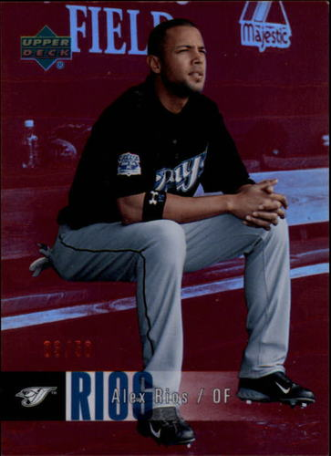 Photo of 2006 Upper Deck Special F/X Red #469 Alex Rios /50
