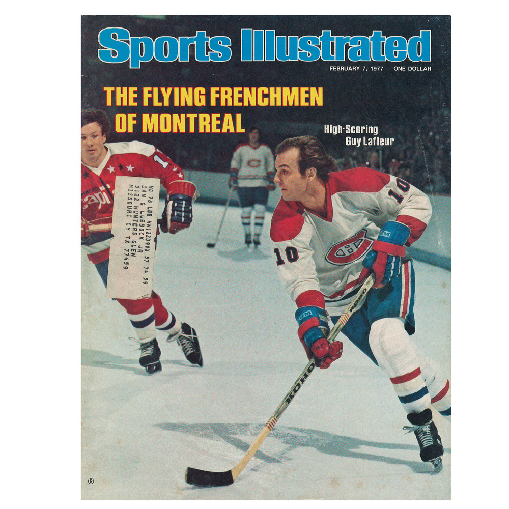 GUY LAFLEUR Sports Illustrated Magazine