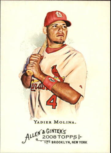 Photo of 2008 Topps Allen and Ginter #263 Yadier Molina