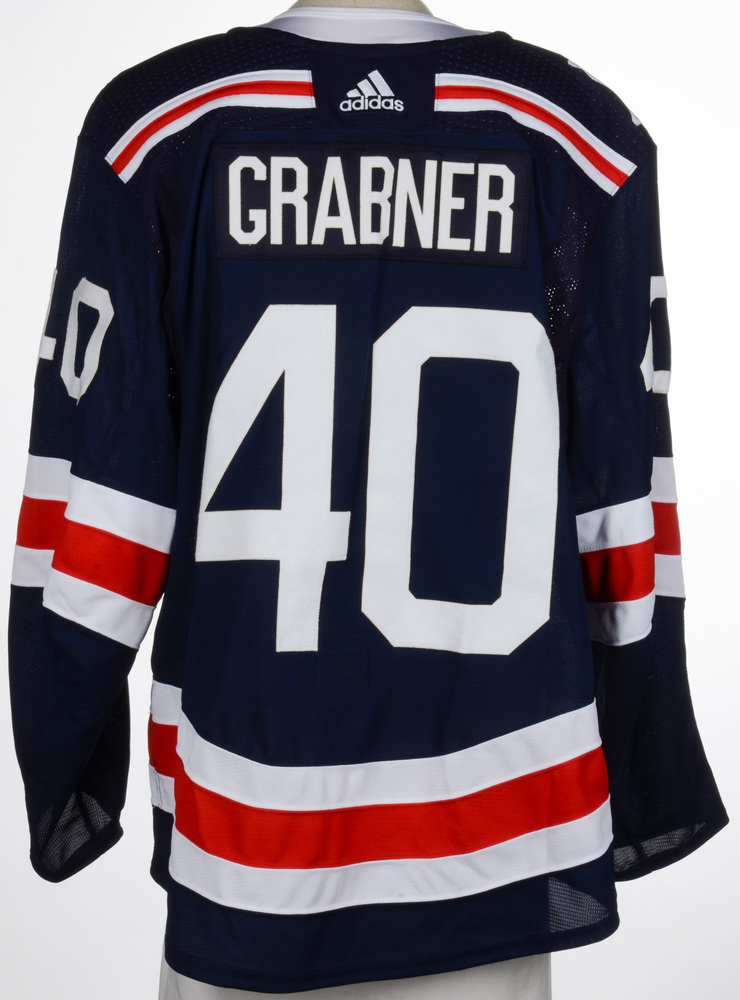 huge selection of 5c833 d5299 Michael Grabner New York Rangers Game-Worn 2018 NHL Winter ...
