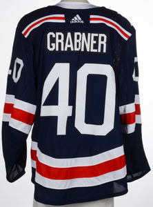 Michael Grabner New York Rangers Game-Worn 2018 NHL Winter Classic Jersey -  Goal Scored In This JerseyMichael Grabner New York Rangers Game-Worn 2018  NHL ... 94bd16343