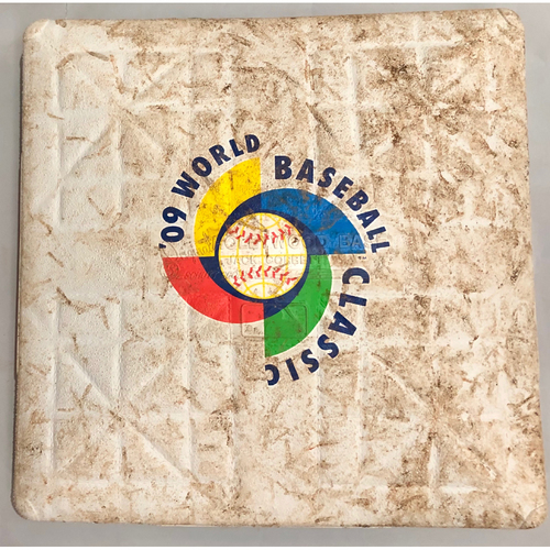 Photo of 2009 World Baseball Classic Game Used Base- 3rd Base (Venezuela vs. Puerto Rico)