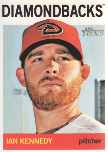 Photo of 2013 Topps Heritage #185 Ian Kennedy