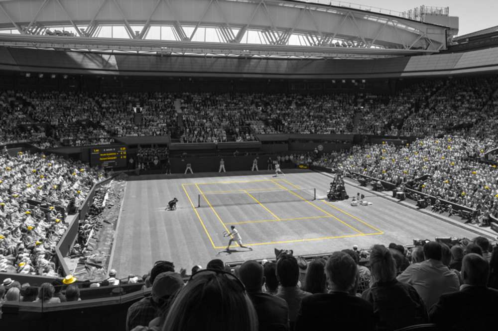 Photo of Experience the Men's Quarter Finals live at Wimbledon.
