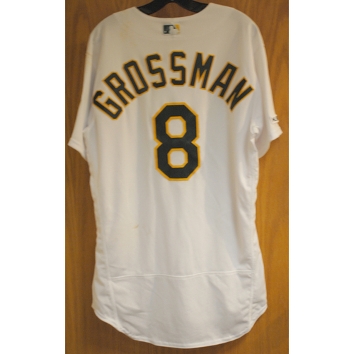 Photo of Robbie Grossman Game Used No-Hitter 5/7/19 Jersey