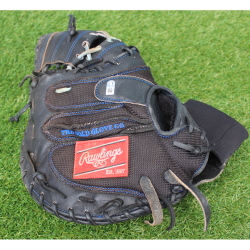 Photo of Team-Issued Catcher's Mitt: Cam Gallagher