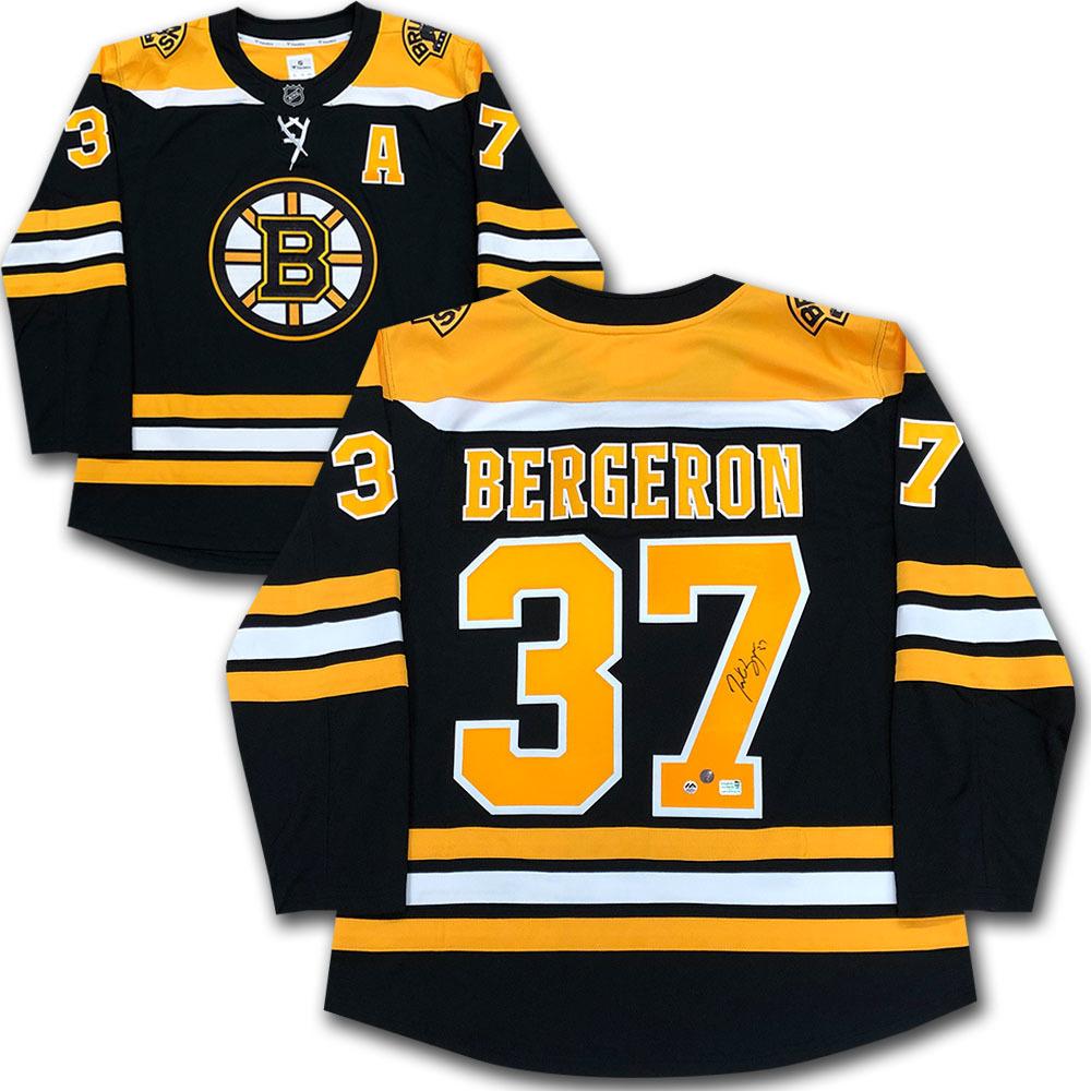 Patrice Bergeron Autographed Boston Bruins Fanatics Jersey