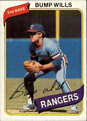 Photo of 1980 Topps #473 Bump Wills