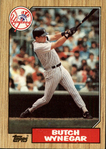 Photo of 1987 Topps #464 Butch Wynegar