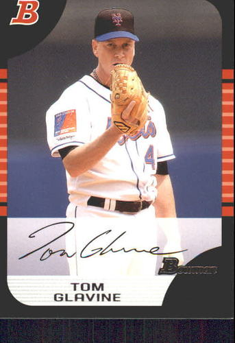 Photo of 2005 Bowman #12 Tom Glavine