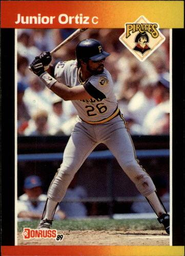 Photo of 1989 Donruss #387 Junior Ortiz
