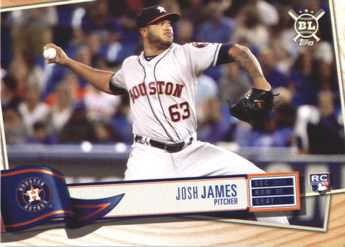 Photo of 2019 Topps Big League #220 Josh James RC