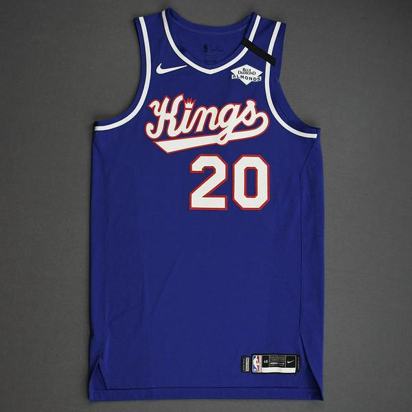Image of Harry Giles III - Sacramento Kings - Game-Worn Classic Edition 1990-94 Road Jersey - 1 of 2 - 2019-20 NBA Season
