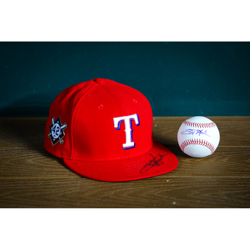 Photo of Scott Heineman Autographed Baseball and Cap - NOT MLB AUTHENTICATED - Certificate of Authenticity Included