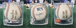 Photo of Roger Clemens Signed PawSox H.O.F Ball