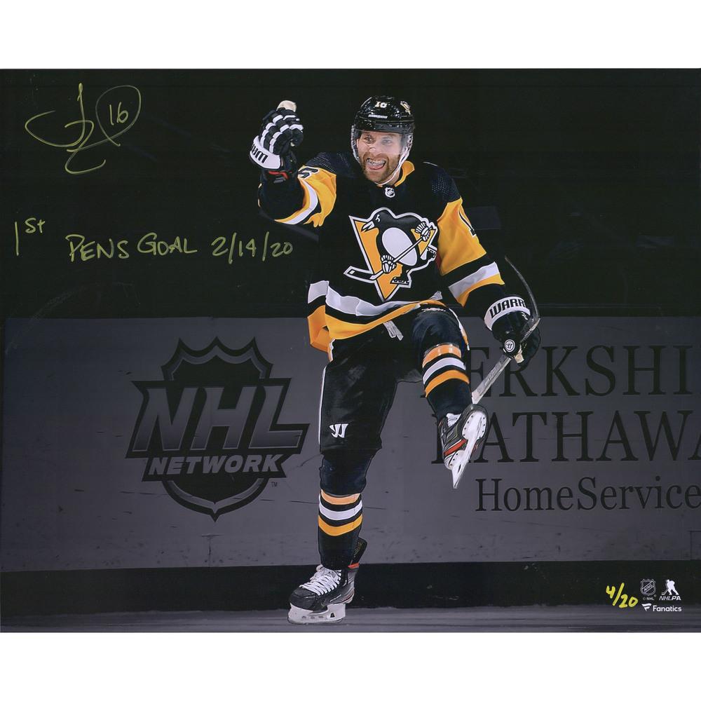 Jason Zucker Pittsburgh Penguins Autographed 16