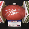 NFL - BILLS QB JOSH ALLEN SIGNED AUTHENTIC 'DUKE' FOOTBALL W/ '17' INSCRIPTION