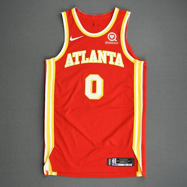 Image of Brian Goodwin - Atlanta Hawks - Game-Worn Icon Edition Jersey - 2020-21 NBA Season