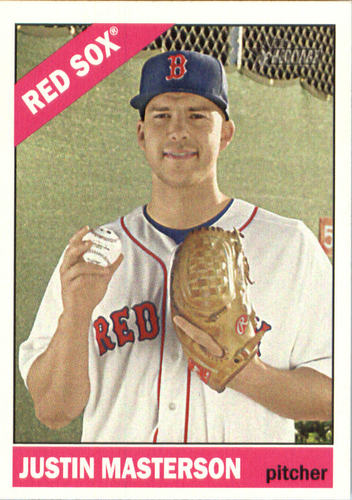 Photo of 2015 Topps Heritage #597 Justin Masterson
