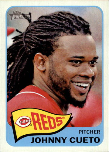 Photo of 2014 Topps Heritage #123 Johnny Cueto