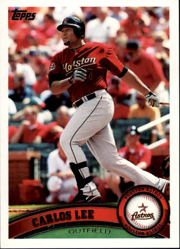 Photo of 2011 Topps #586 Carlos Lee