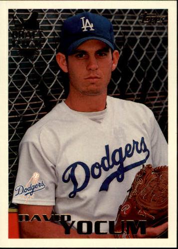 Photo of 1996 Topps #236 David Yocum RC